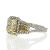 2.03 ct. Radiant Cut 3 Stone Ring #3