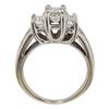 1.01 ct. Emerald Cut 3 Stone Ring, I, SI1 #4
