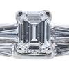 1.07 ct. Emerald Cut Bridal Set Ring, D, VVS1 #4