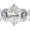 1.52 ct. Oval Cut Bridal Set Ring, J-K, VS1-VS2 #1