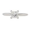 0.7 ct. Princess Cut Solitaire Ring, G, VVS1 #3