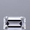 0.72 ct. Emerald Cut Bridal Set Ring, E, SI1 #1