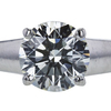 1.74 ct. Round Cut Solitaire Ring, J, VS2 #4