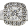 1.0 ct. Cushion Modified Cut Bridal Set Ring, I, SI1 #4