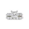 1.07 ct. Princess Cut Bridal Set Ring, I, VS1 #3
