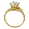 1.03 ct. Round Cut Solitaire Ring, I, VVS1 #4