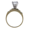 0.90 ct. Princess Cut Bridal Set Ring, H, SI2 #1
