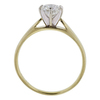 0.77 ct. Round Cut Solitaire Ring, H, VVS2 #3