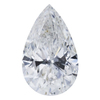 1.51 ct. Pear Cut Pendant Necklace #1