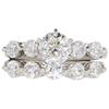 1.03 ct. Round Cut Bridal Set Ring, I, SI2 #3