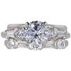 1.5 ct. Round Cut Bridal Set Ring, G, VS2 #3