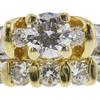0.84 ct. Round Cut Bridal Set Ring, E, SI1 #4