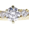 1.03 ct. Round Cut Bridal Set Ring, F, I1 #4