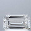 1.03 ct. Emerald Cut Solitaire Ring, H, SI2 #1
