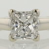 1.19 ct. Princess Cut Solitaire Ring #1