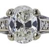1.95 ct. Oval Cut Bridal Set Ring, I-J, I1-I2 #1