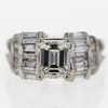 1.5 ct. Emerald Cut Solitaire Ring #4