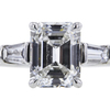 2.30 ct. Emerald Cut Solitaire Ring #4