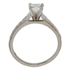 0.72 ct. Radiant Cut Solitaire Ring, D, VS1 #4