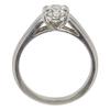 1.05 ct. Round Cut Bridal Set Ring, H, SI1 #4