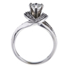 1.01 ct. Pear Cut Solitaire Ring, H, SI2 #4
