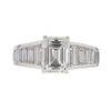 1.77 ct. Emerald Cut Solitaire Ring, H, VS1 #3