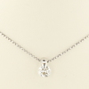 0.76 ct. Round Cut Pendant Necklace #3
