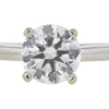 1.35 ct. Round Cut Solitaire Ring, H, SI1 #4
