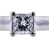 1.01 ct. Princess Cut Bridal Set Ring, H, VS1 #4