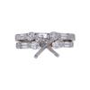 2.05 ct. Round Cut Bridal Set Ring, J, SI2 #3