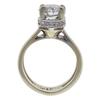 1.93 ct. Round Cut Bridal Set Ring, H, I1 #4