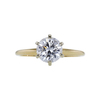 1.27 ct. Round Cut Solitaire Ring, D, SI2 #3