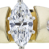 1.52 ct. Marquise Cut Solitaire Ring, G, SI2 #4