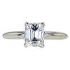 1.30 ct. Emerald Cut Solitaire Ring, J, VS1 #3