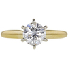 0.94 ct. Round Cut Solitaire Ring, D, VS1 #3