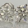 .88 ct. Round Cut Stud Earring #1