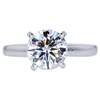1.52 ct. Round Cut Solitaire Ring, F, VS2 #3
