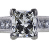 1.42 ct. Princess Cut Solitaire Ring, J, VS1 #4