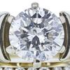 1.04 ct. Round Cut Bridal Set Ring, E, I1 #4