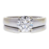 1.17 ct. Round Cut Solitaire Ring, F, SI1 #3