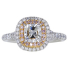 .90 ct. Cushion Cut Halo Ring #1