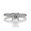 .83 ct. Square Emerald Cut Solitaire Ring #3