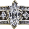 1.18 ct. Marquise Cut Solitaire Ring, D, SI1 #4