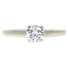 0.54 ct. Round Cut Solitaire Ring, E, VVS2 #3