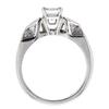 1.04 ct. Emerald Cut Bridal Set Ring #1