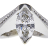 1.52 ct. Marquise Cut Solitaire Ring, E, SI2 #1