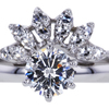 1.01 ct. Round Cut Bridal Set Ring #3