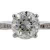 3.47 ct. Round Cut Solitaire Ring #1