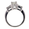 1.02 ct. Oval Cut 3 Stone Ring #3