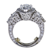 3.05 ct. Pear Cut Halo Ring, I-J, I1 #3